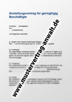anstellungsvertrag-fuer-geringfuegig-beschaeftigte-vorschau